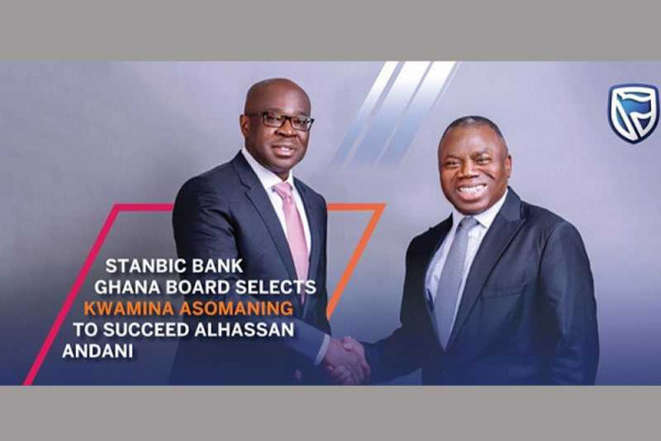 Stanbic Bank names Kwamina Asomaning as its new Chief Executive