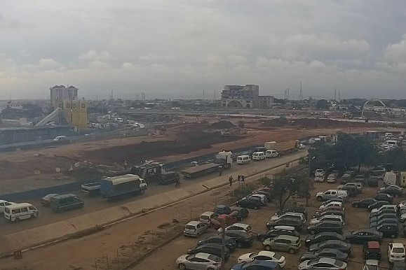 Watch Live Traffic - Harbour Road Motorway Round About Tema.