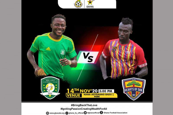 Dormaa Ahenkro to host season opener : Aduana Stars vrs. Hearts of Oak