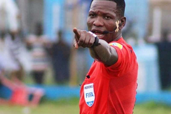 Referee Laryea to handle Cape Verde vrs Rwanda game