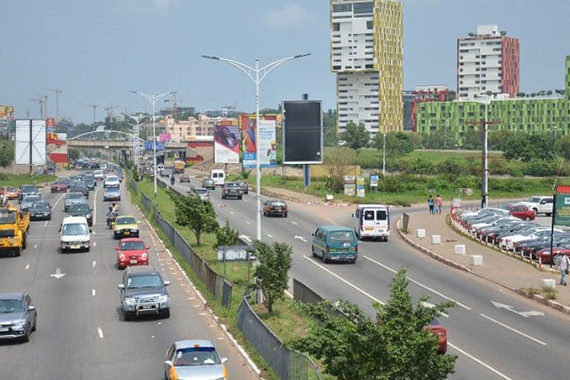 Watch Live Traffic - By-Pass Road, Airport City Accra