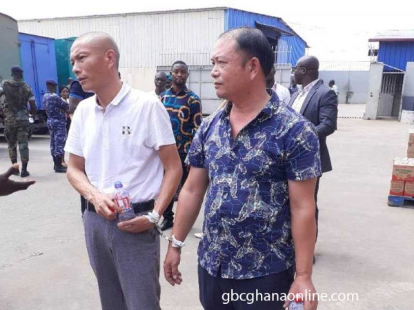 GRA Taskforce arrests two Chinese officials for tax infractions